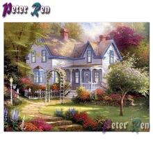 Алмазная живопись 5d питер рен живописная мозаика с полными