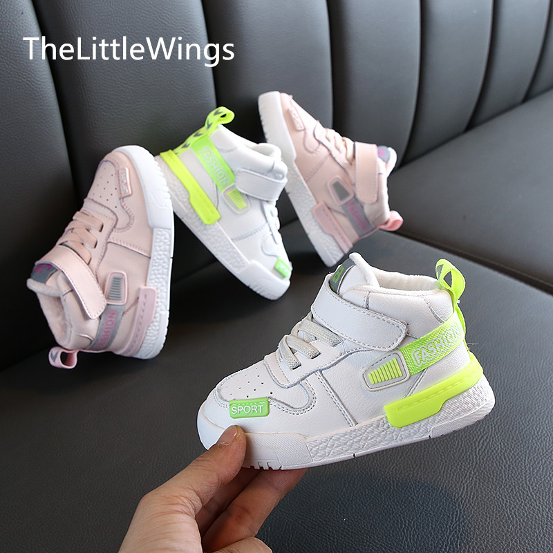 Spring and Autumn Children's Shoes, Girls'Soft-soled Sports Shoes, Korean Version 1-2-13 Years Old