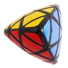 Lanlan Mastermorphix Magische Kubus Puzzel Zwart En Wit Met 4 Kleuren Stickers