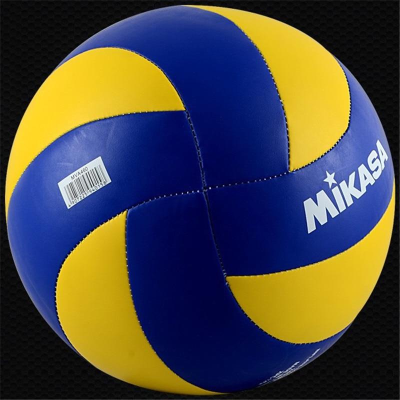 Original Japan MIKASA Volleyball Sport Hard Super Fiber Indoor//Outdoor MVA360//46