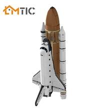 Blocks Bricks Shuttle-Ship Moc Space Building-Kits-Set Aircraft Children Toys Diy Collection-Model
