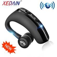 Fone de ouvido bluetooth sem fio handsfree fone de ouvido earbud com microfone hd para o motorista esporte telefone iphone samsung xiaomi