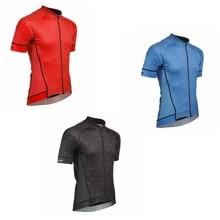 цена на 2019 men cycling jerseys summer short sleeve bike wear anti sweat quickdry jersey road bicycle jersey cycling clothing sport top
