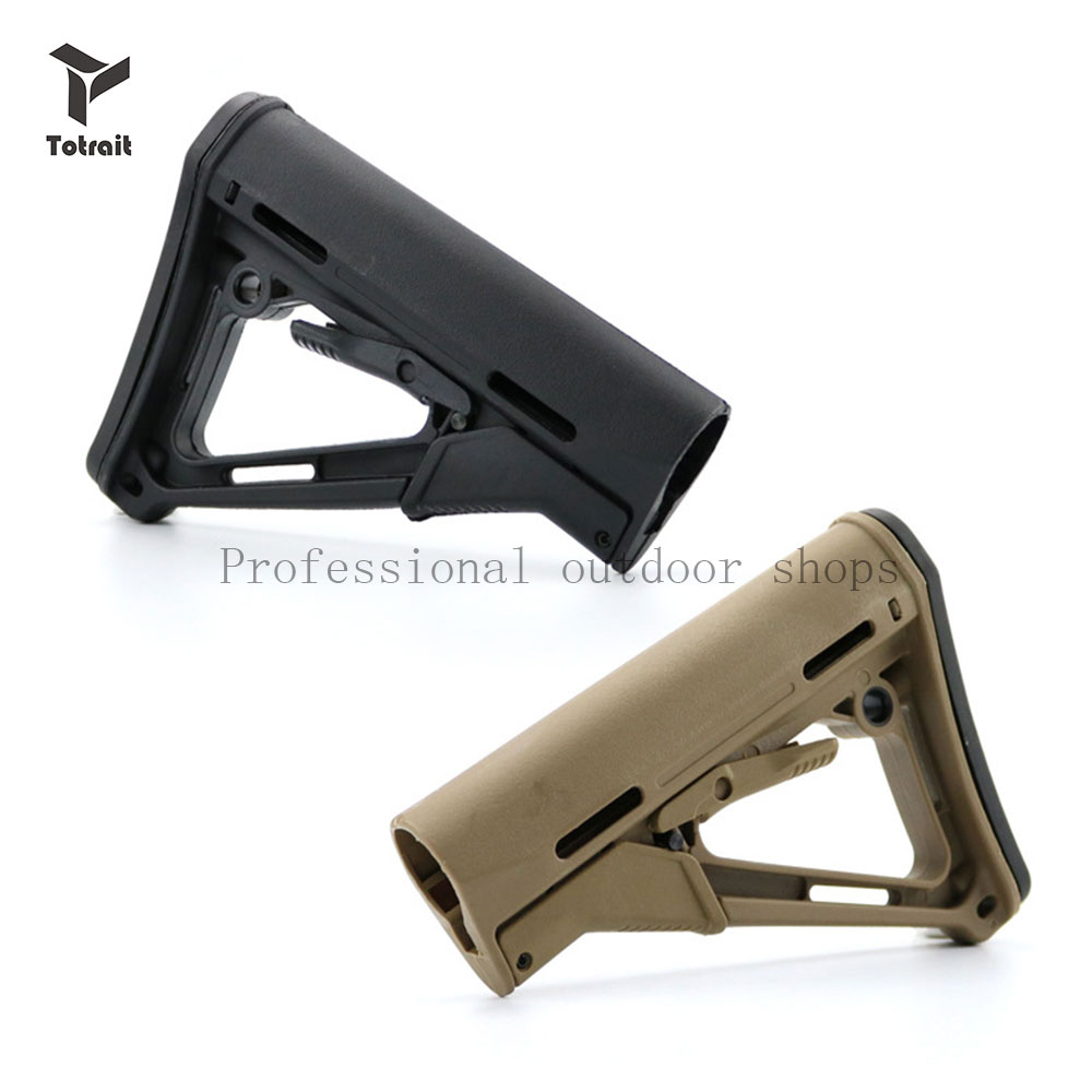 TOtrait Tactical CRT Style Stock M4 Rifle Stock JM Gen8 Gel Blaste Toy Airsoft Refile AR Series CRT BUTT Rifle Hunting Accessory