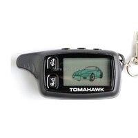 TW 9030 LCD Fernbedienung Keychain für 2 weg auto alarm sytem Tomahawk TW9030/Tomahawk TW 9030 Schlüssel Fob Kette-in Alarmanlage aus Kraftfahrzeuge und Motorräder bei