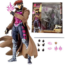 Marvel Amazing Yamaguchi Revoltech GAMBIT X-MEN series NO.012 Action Figure Toy Doll Gift For Kids(China)