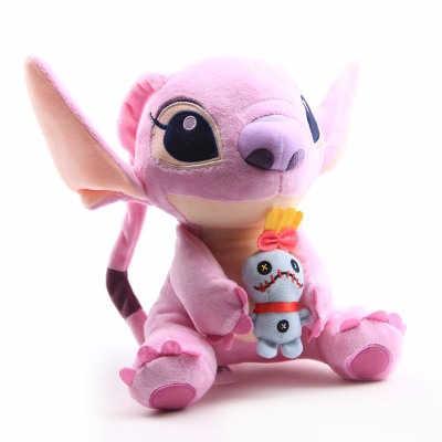Brinquedos lilo and stitch 10-25 cm, brinquedos para bebê, presentes de aniversário para criança boneca decorativa