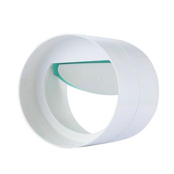 Wentylator wyciągowy z PVC zawór zwrotny przepustnica powietrza wartość rura okrągła wentylator łazienkowy 110mm do 100 80mm ze zdejmowanym pierścieniem redukcyjnym tanie i dobre opinie Sprawdź Średniego ciśnienia Standardowy Instrukcja Other Normalna temperatura