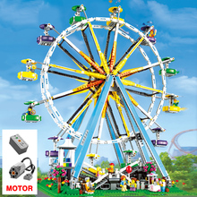 Creator Expert 1218 City  Streetview Ferris Wheel Model Building Blocks bricks Toy Gifts for Kid 10247