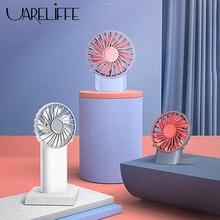 Uareliffe 3 in 1 Neck Fan Desktop Folding Fans Portable 3 Mode Wind Cooler Mute Rechargeable Household Office Summer Radiator