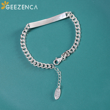 925 Sterling Thai Silver English Motto Bracelet Try it Easy Smile Face Bracelets Bangles Fine Jewelry for Women Trendy Casual 925 sterling silver thai handcrafted individual trendy leaf frosted fine bracelet creative feather lady s ring accessories