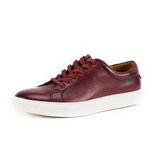 Vintage Sneakers For Man Genuine Leather Trainers Male 2020