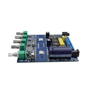Image 3 - لوسيا بلوتوث 5.0 TPA3116D2 جهاز تضخيم الصوت مجلس 2.1 قناة عالية الطاقة 2*50 واط + 100 واط مكبر الصوت DC12V 24V D3 001