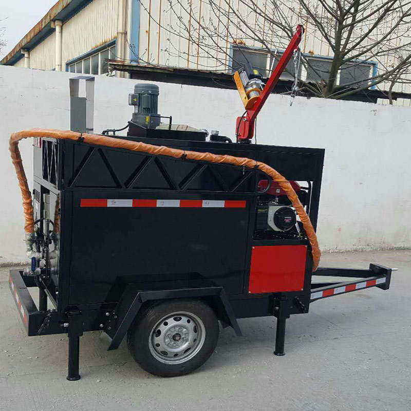 YG-100 2KW Engine Pavement Crack Flling And Sealing Machine Is Suitable For Asphalt Cement Gap Filling Repairing Joint Sealing
