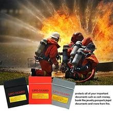 Огнестойкий Файл Сумка Литий Батарея Безопасность Сумка RC Аккумулятор Огнестойкий Взрывобезопасный Сумка 18% 2A23см