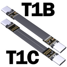 1 peça adt-link usb 3.1 cabo adaptador de extensão macho para macho tipo-c para tipo-c 15cm cabo de dados 10g/bps USB-C a USB-C