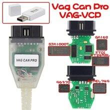 VAG PRO CAN BUS+ UDS+ K-line S.W версия 5.5.1 FTDI FT245RL чип VCP Com OBD2 Диагностический Интерфейс USB кабель VAG CAN pro+ ключ