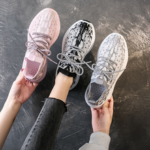Купить с кэшбэком Women trainers Luxury Women Casual Sneakers running Shoes off white Shoes 350 V3 Race Speed Trainer Sneaker Women casual loafers