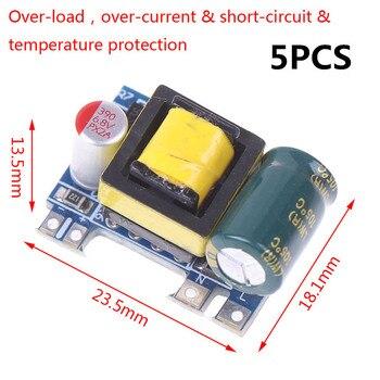 5PCS Hot New Mini AC-DC 110V 120V 220V 230V To 5V 12V Converter Board Module Power Supply Wholesale 5pcs hk19f dc5v shg 1a 125v ac 2a 30v dc mini power relay 8pin new hot wholesale