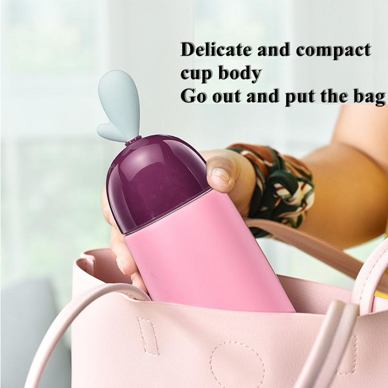 DILLER MLH8724 Thermos Double Wall 304L Stainless Steel Vacuum Flasks Thermos Cup Coffee Tea Milk Travel Mug Water Bottle