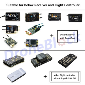 Image 5 - FrSky Yaapu Telemetry Converter Cable Pixhawk to Taranis X9D Plus QX7 Jumper T16 Smart Port R9 Slim+ R9 X8R XSR R9M X4R Receiver
