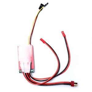 Image 4 - 20A x 2 양방향 브러시 ESC 듀얼 웨이 ESC 전자 레귤레이터 (RC DIY 보트 제어 부품 용 고속 380 모터 포함)