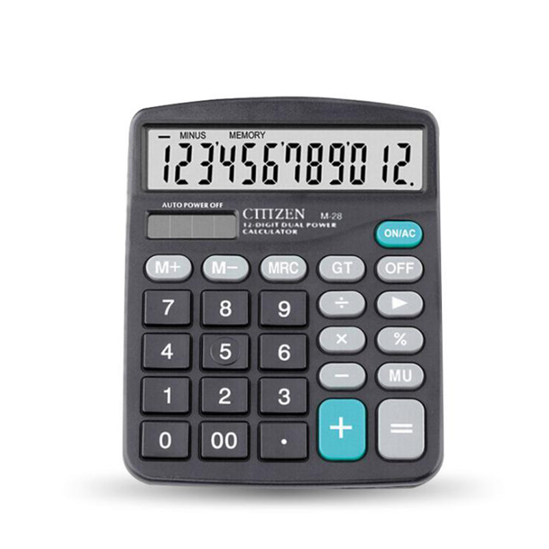 New Financial accounting tax rate calculator 12 big screen display solar power calculators for office School image