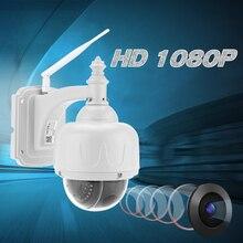 KKMOON H.264 HD 1080P 2,8-12 мм WiFi ip-камера видеонаблюдения Водонепроницаемая камера видеонаблюдения с автофокусом Беспроводная PTZ Домашняя безопасность