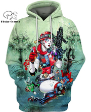 PLstar Cosmos DC Harley Quinn anime Super Attack Speed 3d hoodies/shirt/Sweatshirt Winter autumn funny Harajuku streetwear-4
