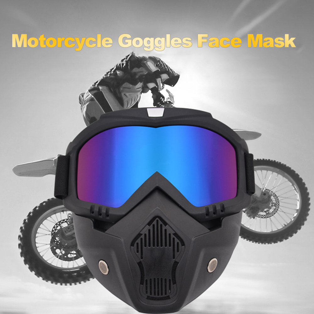 Outdoor Cycling Airsoft Mask Full Face Helmet Paintball Mask Airsoft Safety Protective Anti-fog Goggle Protective Tactical Mask