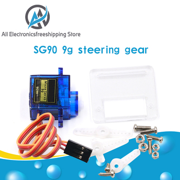 Smart Electronics Rc Mini Micro 9g 1.6KG Servo SG90 for RC 250 450 Helicopter Airplane Car Boat image