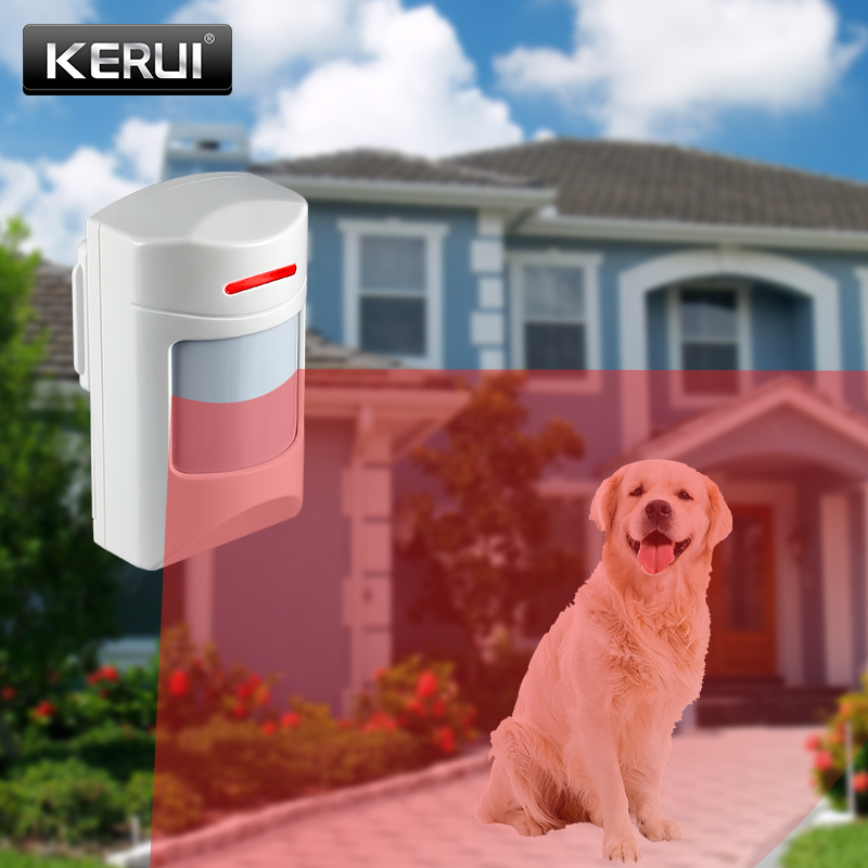 KERUI Wireless 433Mhz 2 PCS Anti-Pet Immune Motion PIR Detector Infrared Sensor For GSM PSTN Wifi Alarm System G18 G19 W2