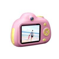 D6 podwójny obiektyw aparat dziecięcy Hd Mini aparat cyfrowy mała lustrzanka kamera z podwójnym obiektywem dla dzieci zabawki fotografia rekwizyty w Zabawkowe aparaty od Zabawki i hobby na