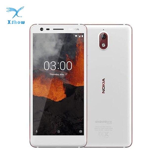 NOKIA 3.1 Smartphone 3GB RAM 32GB ROM 5.2Inch 18:9 HD Screen 2990mAh 13.0MP+8.0MP Android 9 MT6750N Octa Core mobile phone