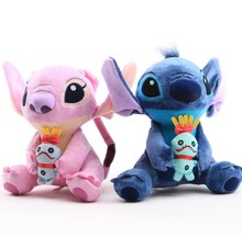 New arrival Kawaii 6 Styles Stitch Plush Doll Toy Anime Lilo And  Stuffed soft toy for children birthday gift