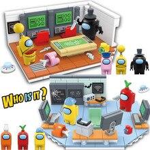 1036PCS Among Model Kit Building Blocks Sets Mini Alien Us Figures Toys Bricks Juguetes DIY For Children Christmas Kids Boy Gift