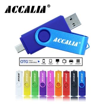 Smart OTG Type C Pendrive 128GB 64GB Memoria Usb Flash Drive 32GB 16GB Cle Usb 2.0 Pen Drive 8GB 4GB For Phone Flash Usb Stick