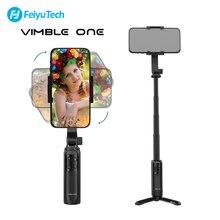 FeiyuTech Vimble אחד כף יד Gimbal Smartphone מייצב Bluetooth Gimbal להארכה קוטב חצובה עבור iPhone סמסונג Huawei