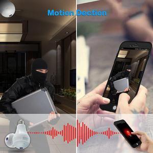 Image 4 - 960P 파노라마 카메라 와이파이 360 학위 CCTV 홈 보안 비디오 감시 와이파이 카메라 나이트 비전 양방향 오디오
