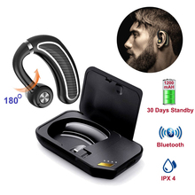 Business Wireless Bluetooth Earphone BT14 build-in 300mAh battery Sport Handsfree Eardubs with Microphone for Redmi Honor phones