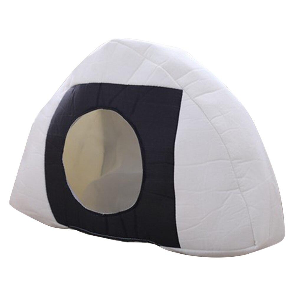 Casquette chaude douce Triangle boule de riz en peluche chapeaux cache-oreilles PP coton rempli bonnets pour femmes adulte chapeau photographie accessoires Oc18