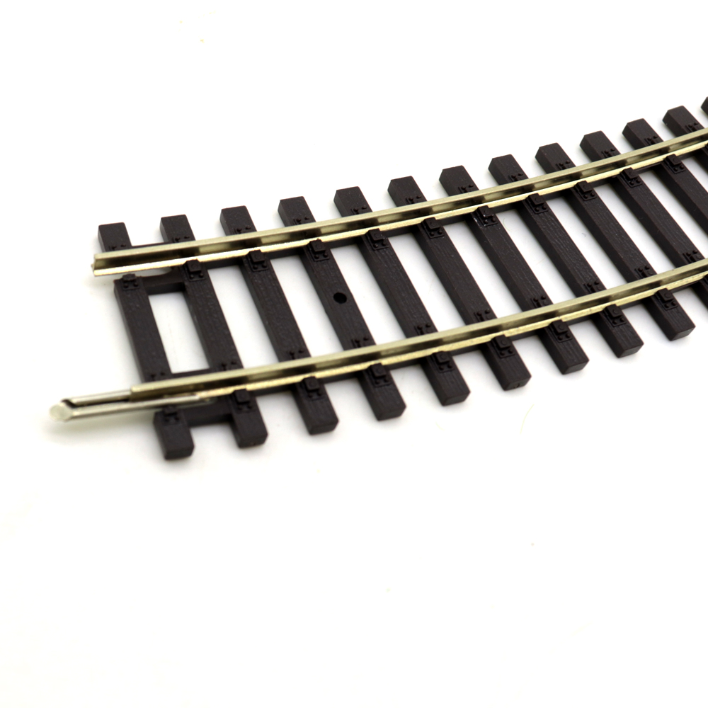 HO Scale Train 1:87 Rail Railroad Layout 3pcs Track General Train Track Scene Game Model Essential Accessories