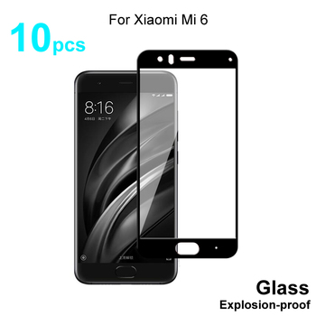 For Xiaomi Mi 6 Glass Full Cover Tempered Glass Screen Protector 9H Hardness Protective Glass For Xiaomi Mi 6 Mi6