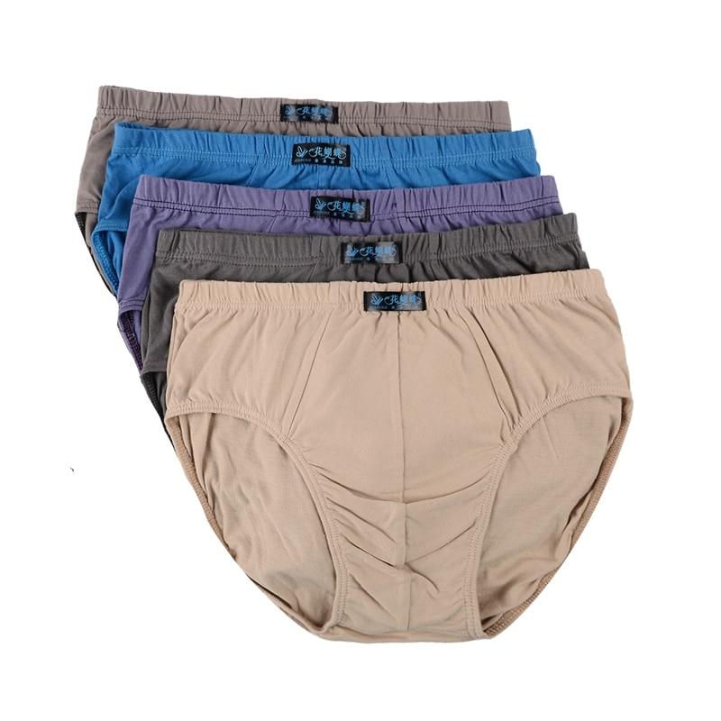 Image 2 - حجم كبير ملابس داخلية للرجال الذكور القطن سراويل قطنية كبيرة الحجم الثلاثي سراويل الرجال السراويل رئيس عالية الخصر السراويل رئيس كبير الرجالunderwear maleplus size mens underwearmen underwear pants -