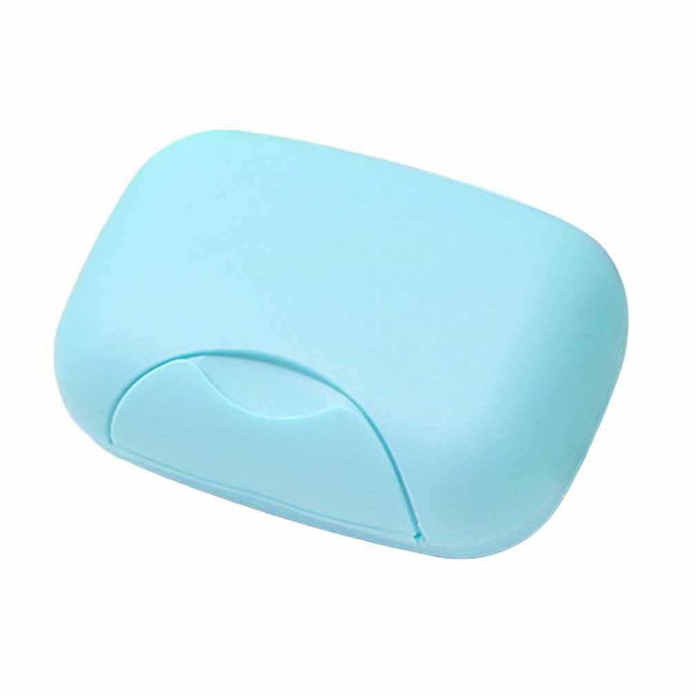 Reise Handgemachte Seife Box Seife Fall Gerichte Wasserdicht Dicht Seife Box mit Lock-Box Abdeckung Bad Lagerung Zubehör