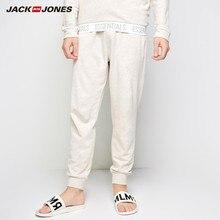 JackJones, мужская хлопковая Домашняя одежда, брюки на шнурке, облегающие, модные брюки, Мужская одежда, бренд 2183HC502