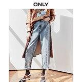 Только свободные прямые джинсы из 100% хлопка с высокой посадкой   119349518 Джинсы      АлиЭкспресс