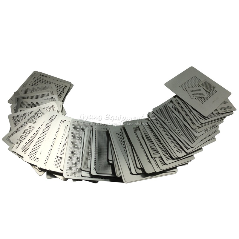 LY Common Use Direct Heating BGA Reballing Stencil Kit 219 Pcs/set Brand New Original Free Gift Direct Heat Jig
