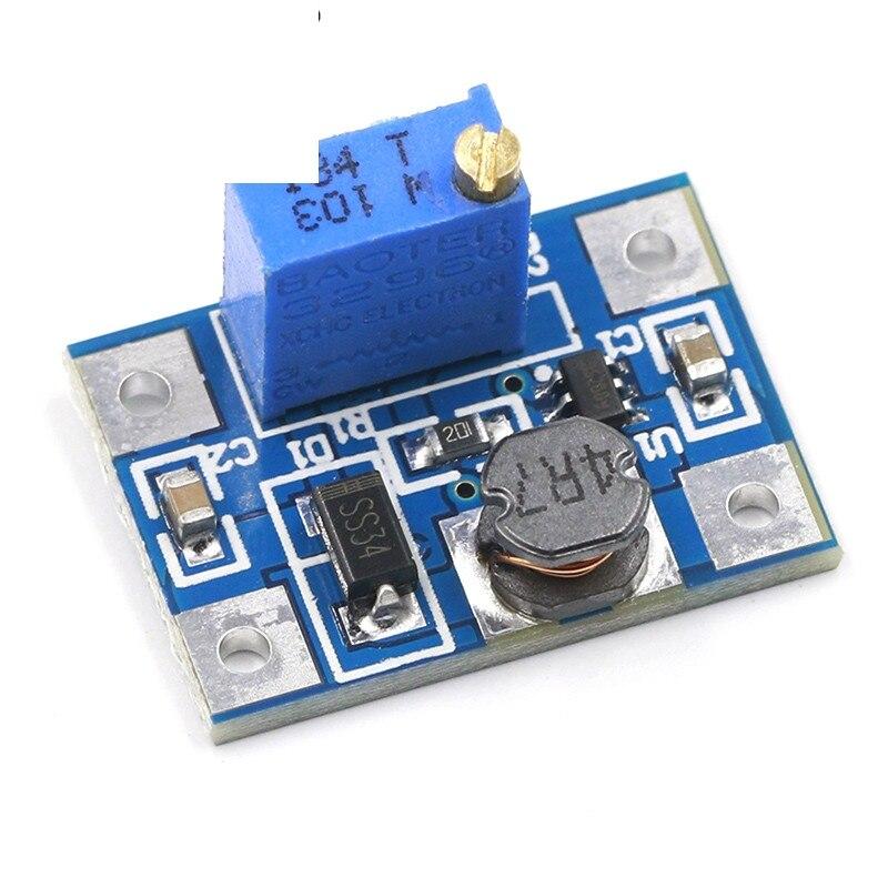 Smart Electronics DC-DC SX1308 Step-UP Adjustable Power Module Step Up Boost Converter 2-24V To 2-28V 2A