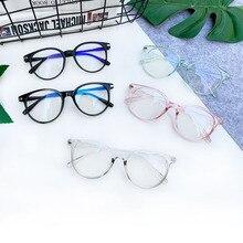 1pc Fashion Antiblue Ray Radiation Blocking Glasses Men Women Computer Goggles Anti-uv Flat Mirror Eyeglasses Blue Light Glasses